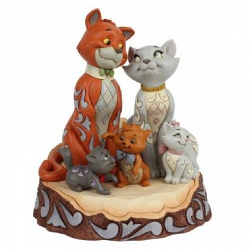 Disney Traditions 6007057 Carved by Heart Aristocats Figurine